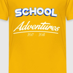 School Adventures 2017/18 - Kids' Premium T-Shirt