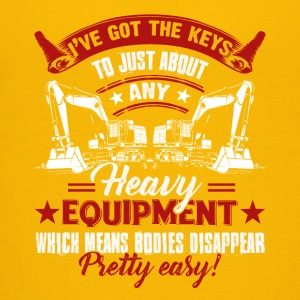 Heavy Equipment Operator Pretty Easy Shirt - Kids' Premium T-Shirt