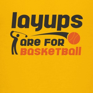 Layups are for basketball Funny Golf Tee Shirt - Kids' Premium T-Shirt