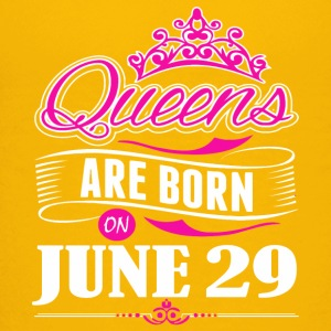 Queens are born on June 29 - Kids' Premium T-Shirt