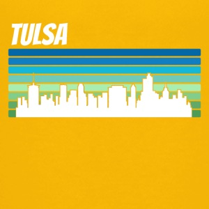 Retro Tulsa Skyline - Kids' Premium T-Shirt