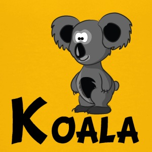 Cartoon Koala Bear - Kids' Premium T-Shirt