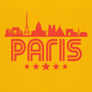 Retro Paris Skyline - Kids' Premium T-Shirt