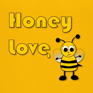 Honey Love with Honey Bee - Kids' Premium T-Shirt