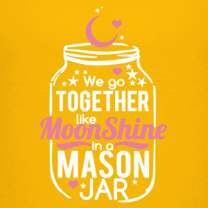Moonshine and Mason Jar Tee Shirts - Kids' Premium T-Shirt