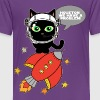 Space Cat - Houston... - Kids' Premium T-Shirt