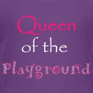 Queen of the Playground - Kids' Premium T-Shirt