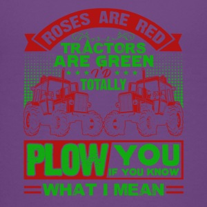 Farmer Roes Are Red Tractor Are Green Shirt - Kids' Premium T-Shirt