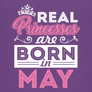 Real Princesses are Born in May - Kids' Premium T-Shirt
