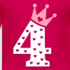 4th Birthday / crown - Kids' Premium T-Shirt