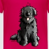Newfoundland - Dog - Dogs - Newfi - Newf - Cartoon - Kids' Premium T-Shirt