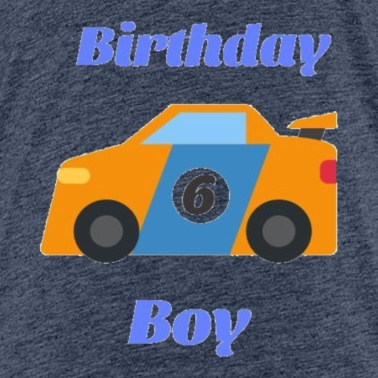 Birthday Boy 6 Funny Gift For Cars Lovers
