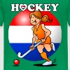 Dutch women's hockey team - Kids' Premium T-Shirt