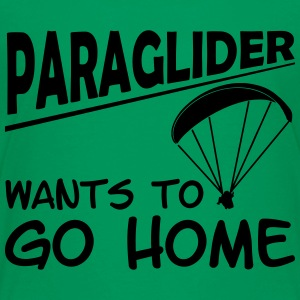 paragliding wants to go home - Kids' Premium T-Shirt