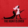 the hunt is over bachelorette bachelor party bride - Tote Bag