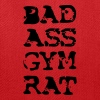 Bad Ass Gym Rat Exercise Workout Apparel Clothing - Tote Bag