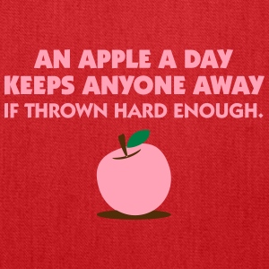 An Apple A Day Keeps Everyone Away! - Tote Bag