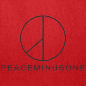 peaceminusone black - Tote Bag