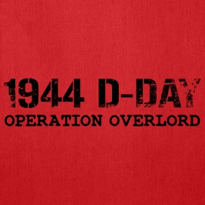 1944 D-Day Operation Overlord (Black) - Tote Bag