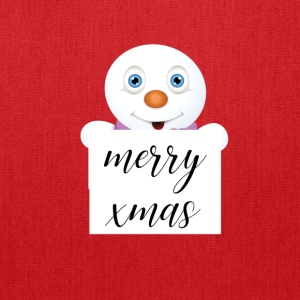 cute snowman merry xmas - Tote Bag