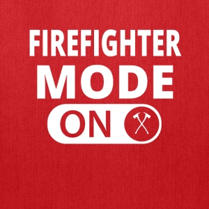 MODE ON FIREFIGHTER feuerwehr - Tote Bag