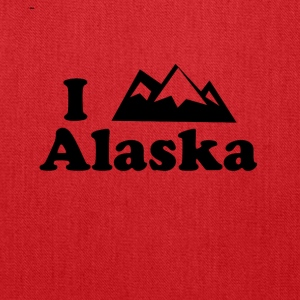 alaska mountain - Tote Bag