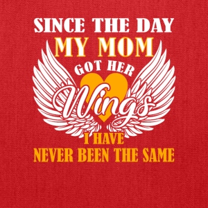 Day Mom Got Wings I Have Memories Mom - Tote Bag