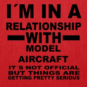relationship with MODEL AIRCRAFT - Tote Bag