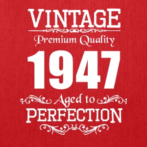 Vintage Premium Quality 1947 Aged To Perfection - Tote Bag