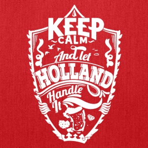 HOLLAND KEEP CALM TEE SHIRT - Tote Bag