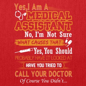 Medical Assistant Tee Shirt - Tote Bag