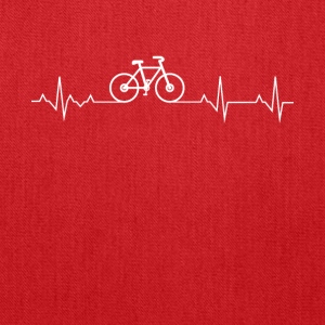 Cycling Heartbeat Lover - Tote Bag