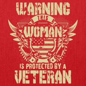 Veteran's Daughter Shirt - Tote Bag