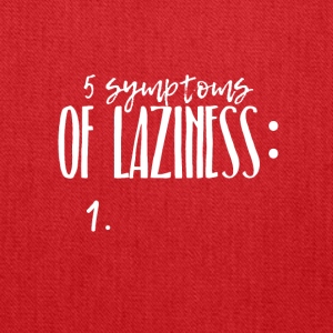 Five symptoms of Laziness - Tote Bag