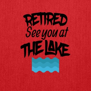 Retired See You At The Lake - Tote Bag