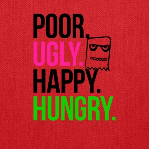 Poor Ugly Happy Hungry - Tote Bag