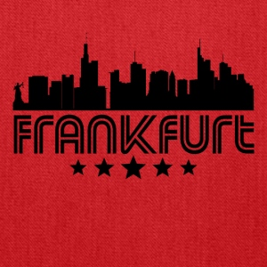 Retro Frankfurt Skyline - Tote Bag