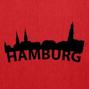 Arc Skyline Of Hamburg Germany - Tote Bag