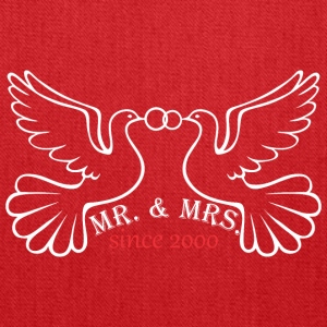 Mr And Mrs Since 2000 Married Marriage Engagement - Tote Bag