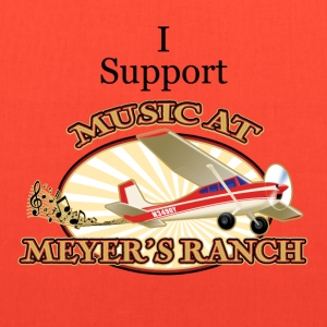 I Support - Music at Meyer's Ranch - Tote Bag