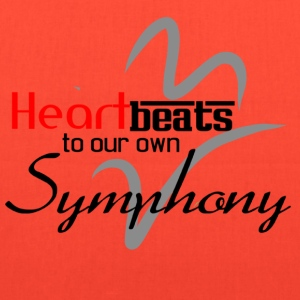 Heart beats to our own Symphony - Tote Bag