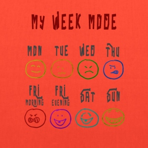 Week Mode - Tote Bag