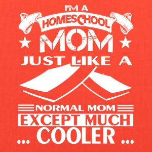 Homeschool Mom Cooler Shirts - Tote Bag