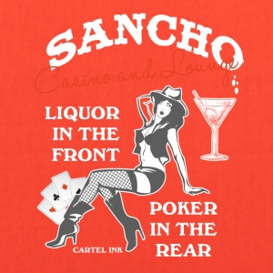 Sancho casino and lounge Liquor in the front - Tote Bag