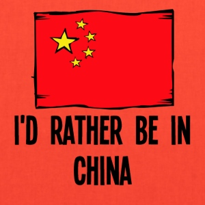 I'd Rather Be In China - Tote Bag