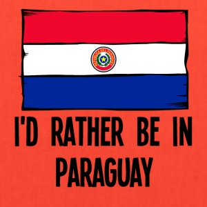 I'd Rather Be In Paraguay - Tote Bag