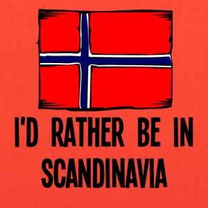 I'd Rather Be In Scandinavia - Tote Bag