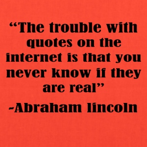The trouble with the internet - Tote Bag