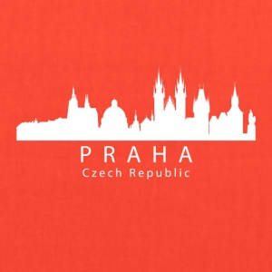 Praha Prague Czech Republic Skyline - Tote Bag