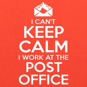 KEEP CALM POST OFFICE SHIRT - Tote Bag